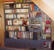 bibliothèque sapin